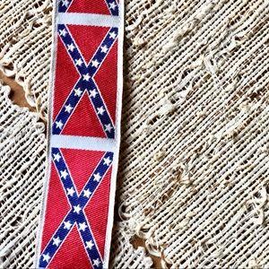 Other - Rare TRAFALGAR Confederate Flag Suspenders Dixie